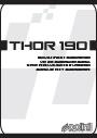 THOR190 POLINI MANUAL