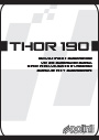 MANUAL POLINI THOR190 (Inglés)