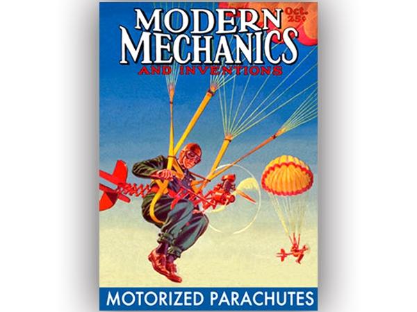 Curiosidad. Portada - Modern Mechanics -
