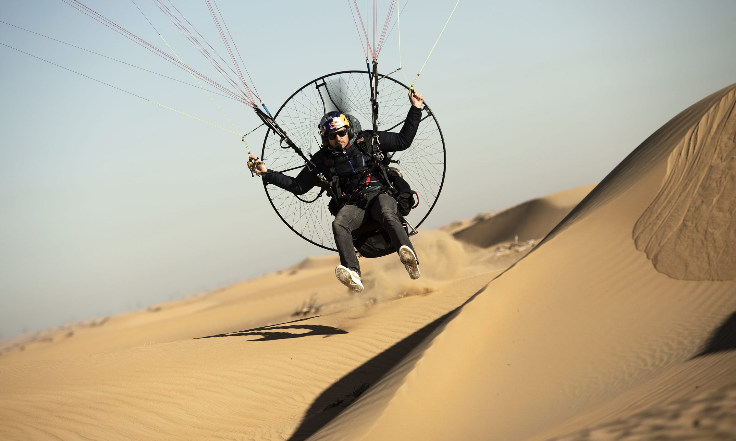 Horacio LIorens of Spain performs during  practice session at Dubai desert in United Arab Emirates on January 12th, 2021